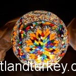 Turkish mosaic lamps as unique gifts.