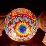 30cm ball mosaic lamp model