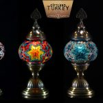 Mosaic Table Lamp size 2